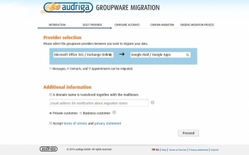 audriga Groupware Migration
